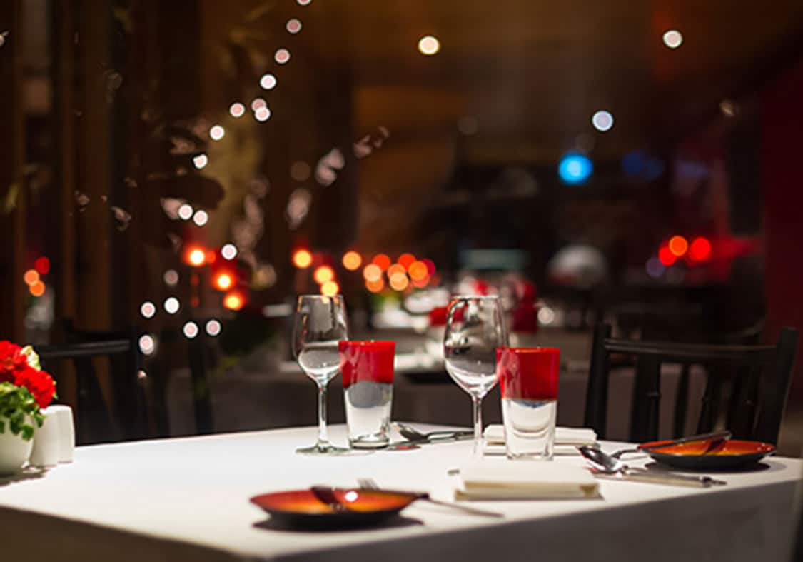 In places chandigarh for romantic dinner THE 10