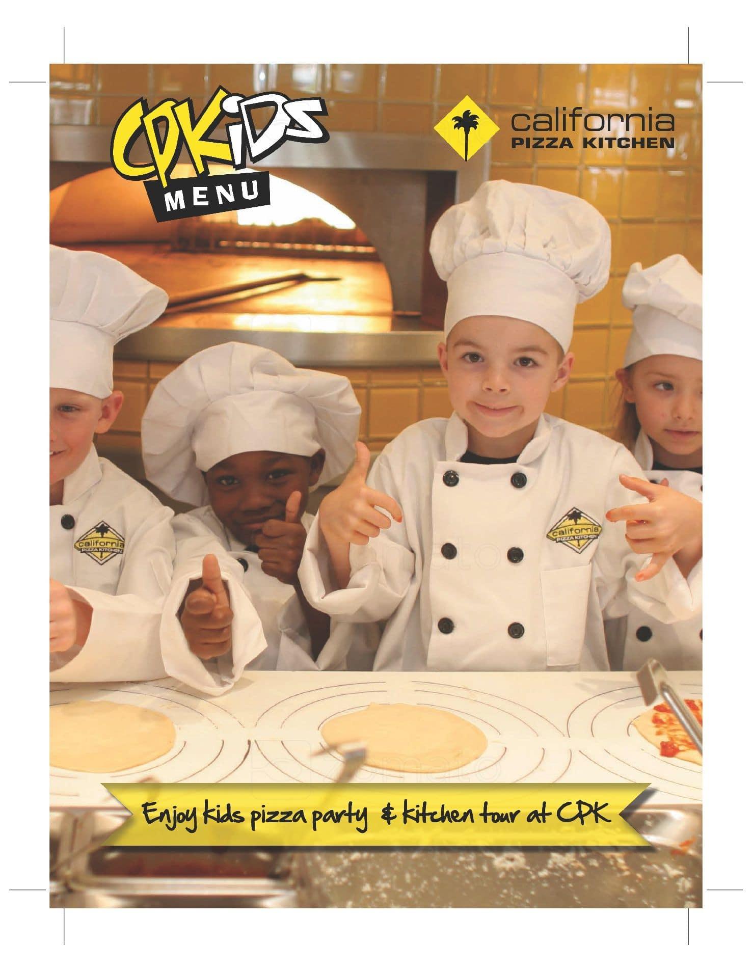California Pizza Kitchen Menu India