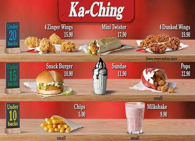 KFC Menu, Menu for KFC, Marshalltown, Inner City - Zomato SA