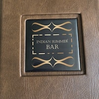 581fbb0ca40 Indian Summer Menu. Bar