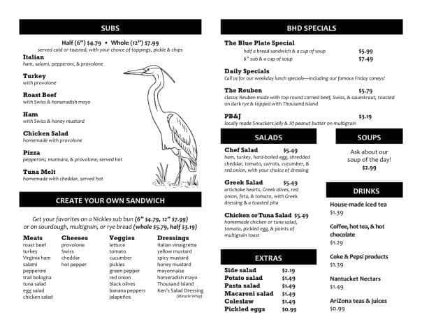 Blue Heron Cafe Massillon