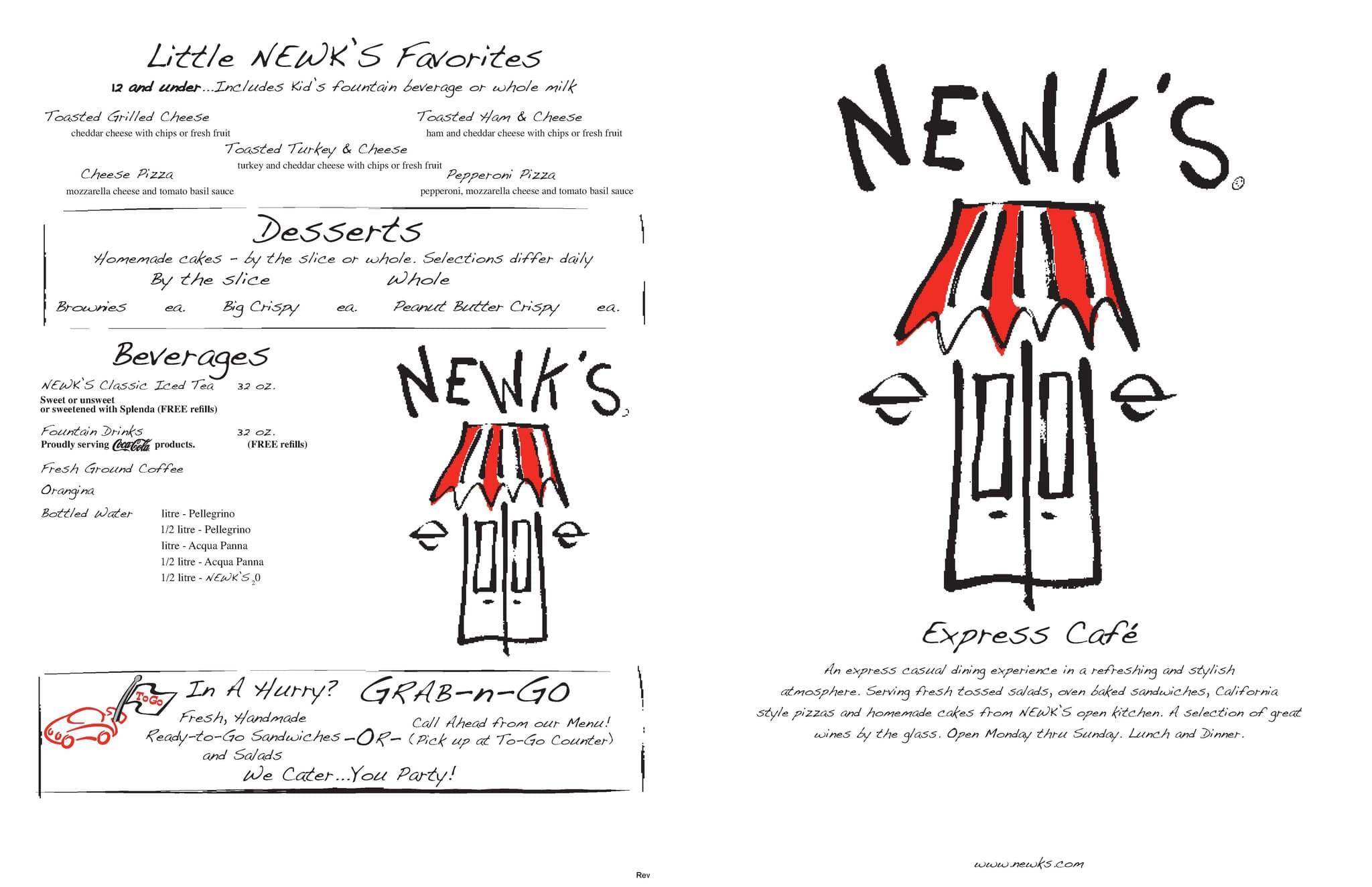 photograph about Newks Printable Menu named Newks Specific Restaurant Menu, Menu for Newks Specific Restaurant