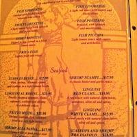 Sorrento Italian Restaurant Jacksonville Fl Menu