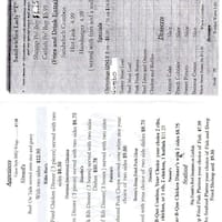 scanned menu for martha039 - Marthas Kitchen