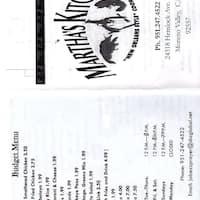 Martha\'s Kitchen, Moreno Valley, Inland Empire - Urbanspoon/Zomato
