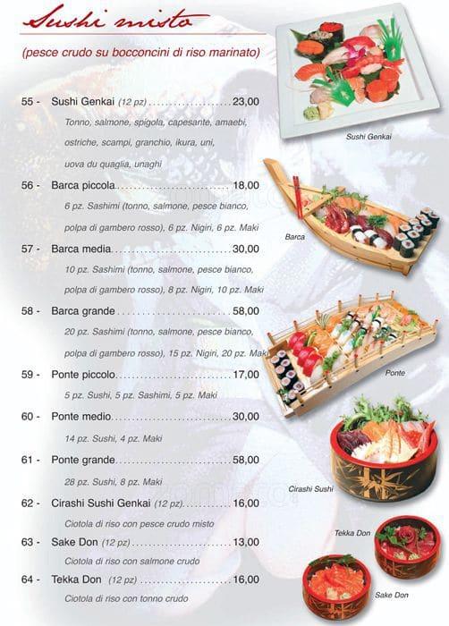 Genkai sushi roma cipro volo