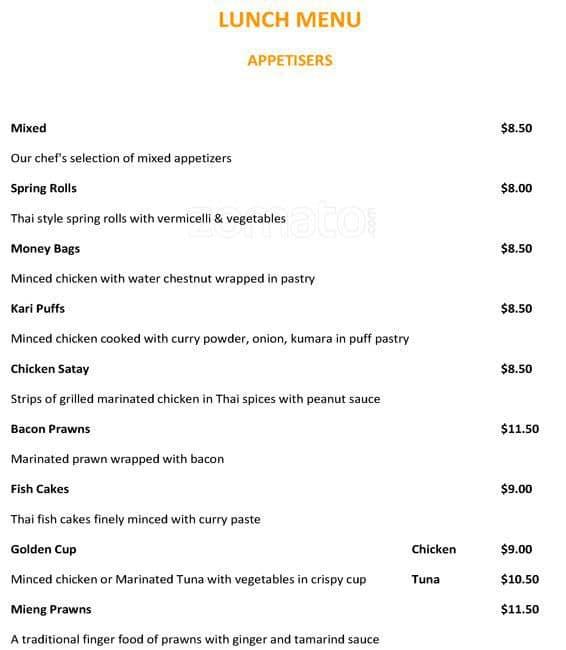 Thai Restaurant Epsom