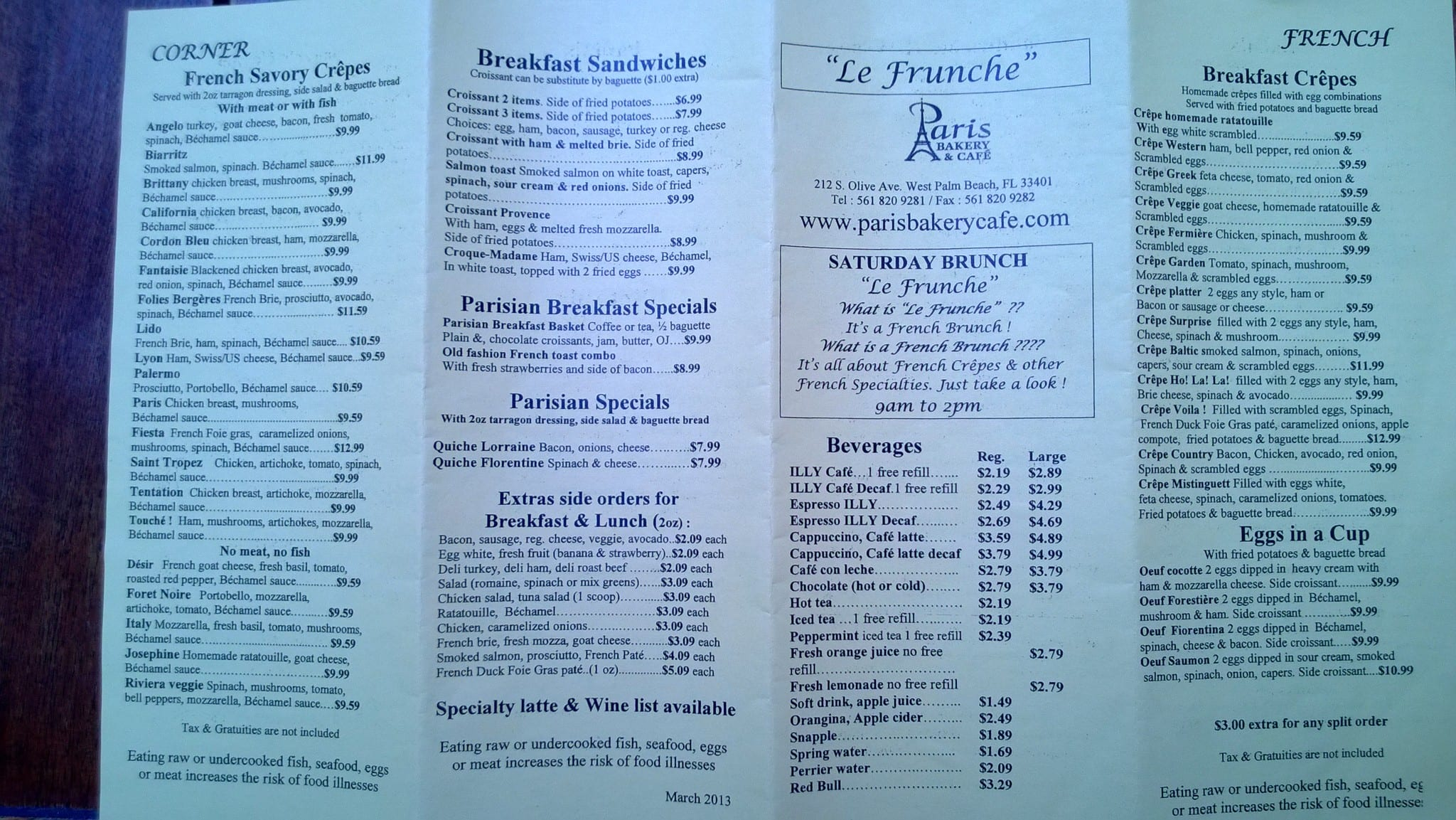 West Palm Beach French Bakery