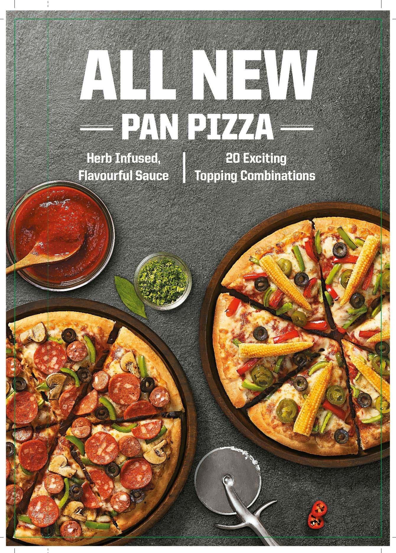 Pizza Hut Menu, Menu f...