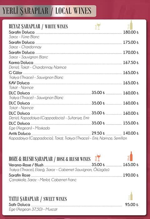 Litera Avluu Menu Menu For Litera Avluu Taksim Istanbul Zomato