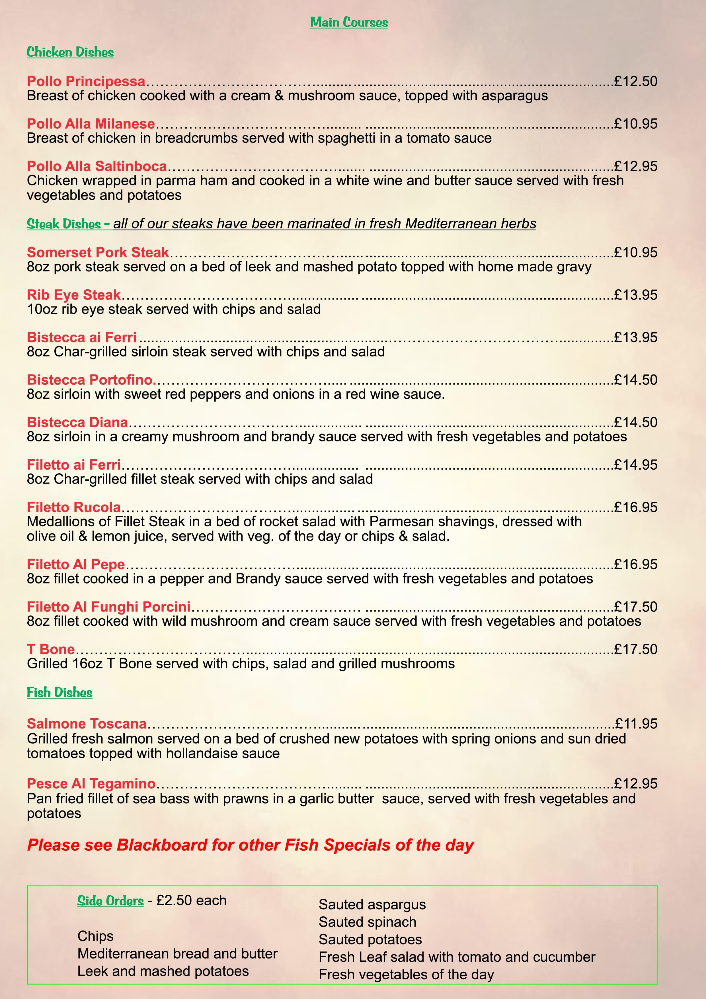 Kingswood Bristol Italian Restaurants