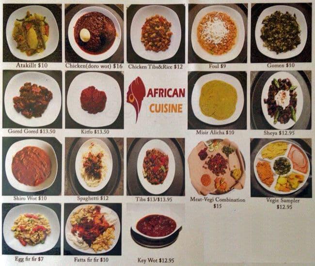 African cuisine menu menu de african cuisine footscray for African cuisine menu