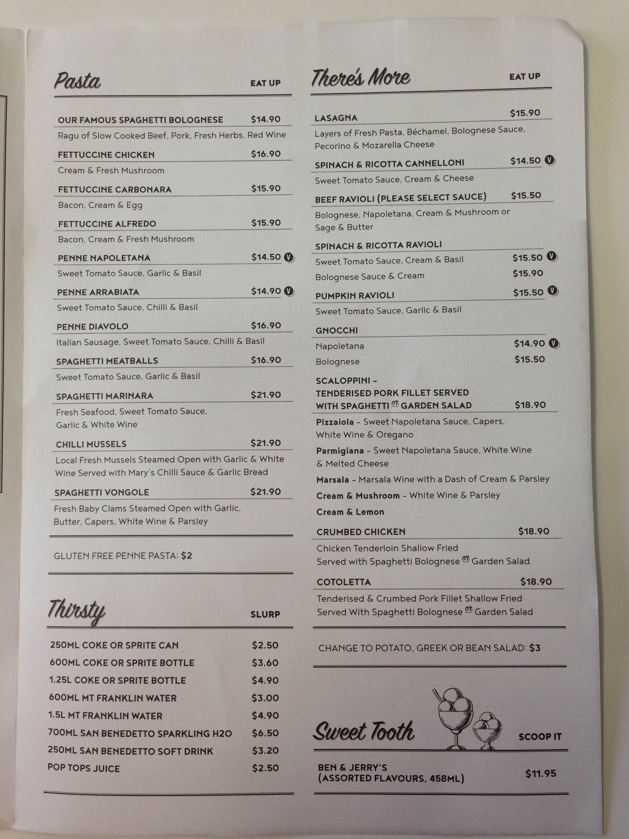 Grill&#39-d Menu, Menu for Grill&#39-d, Southbank, Brisbane - Urbanspoon ...