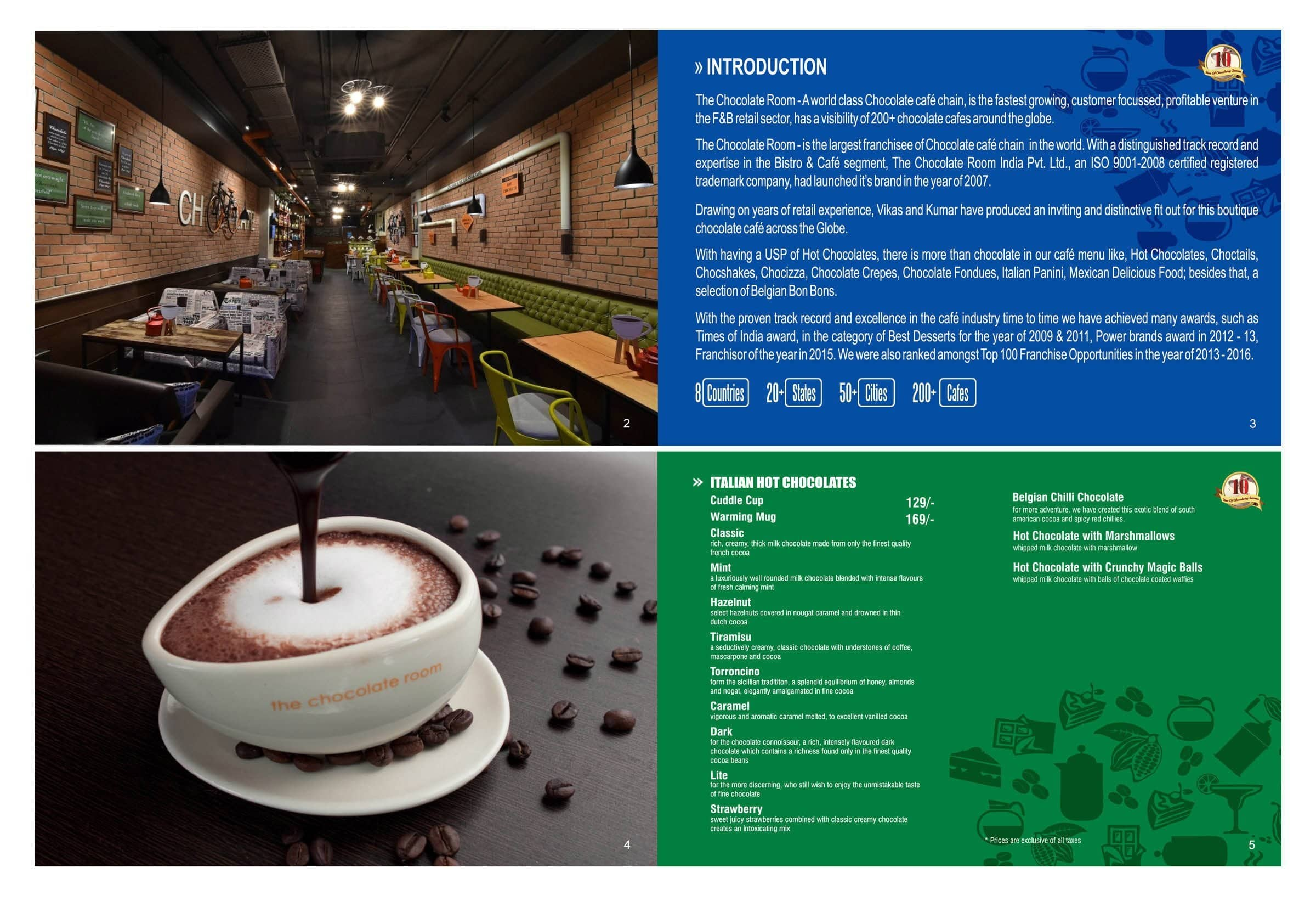 The Chocolate Room Menu, Menu for The Chocolate Room, RS Puram ...