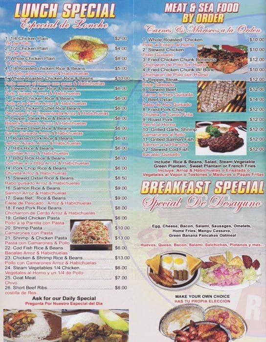 Tropical Grill Restaurant Menu Urbanspoonzomato
