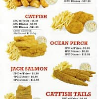 Captain hooks fish chicken chatham chicago for Hook fish and chicken menu