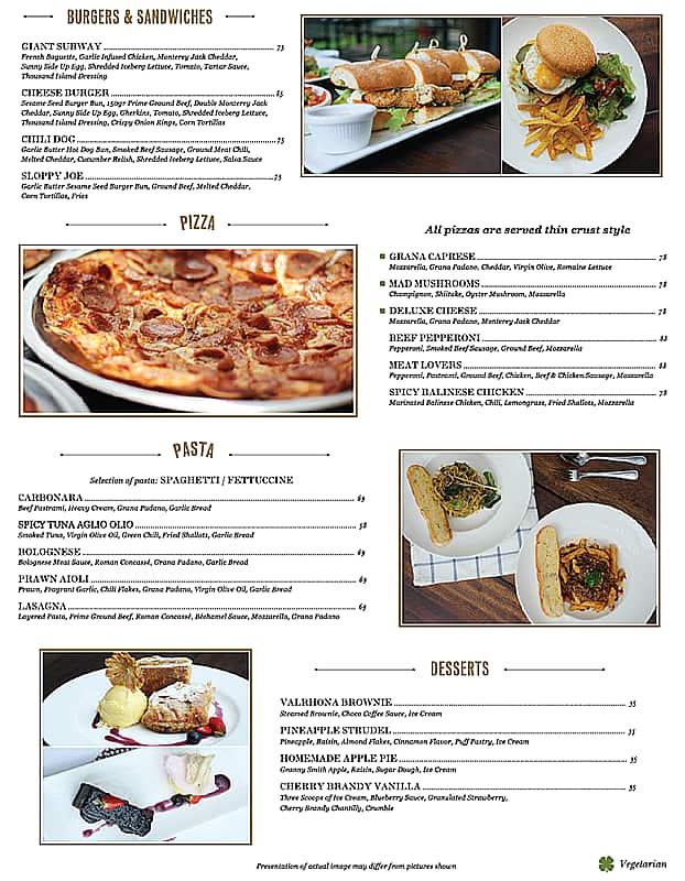 Otterhound Jakarta Menu Daftar Harga Menu Food...