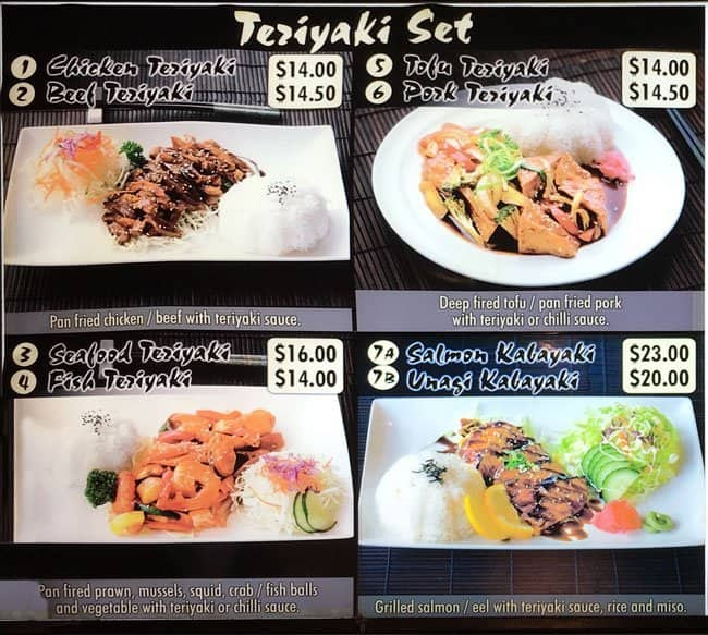 dami sushi bento menu menu for dami sushi bento ponsonby auckland menumania zomato. Black Bedroom Furniture Sets. Home Design Ideas