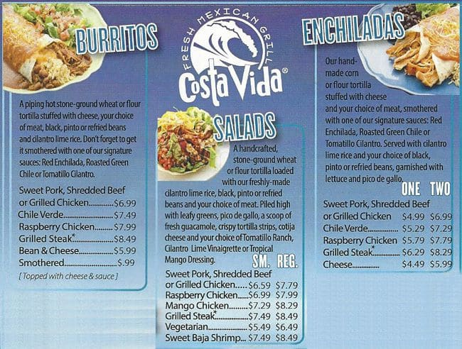 costa vida application
