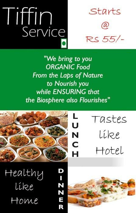 Organic Food Facktory Menu, Menu for Organic Food Facktory ...