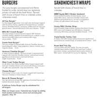 99 Restaurants Charlestown Menu