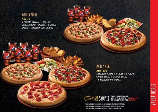 Pizza Hut Dubai Enjoy Our Meal Deals Offers City Centre Mirdif