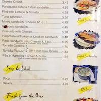 Brazil Bakery Menu Food