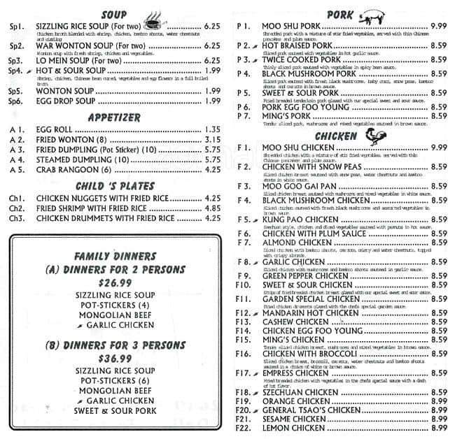 hong kong garden menu menu for hong kong garden oak cliff dallas urbanspoon zomato