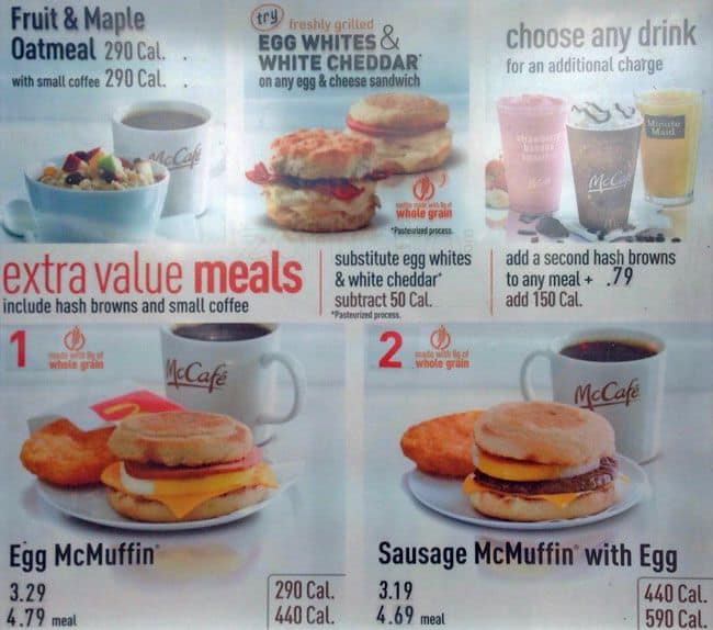 photo about Fazoli's Printable Menu known as McDonalds Menu, Menu for McDonalds, Thornton, Denver