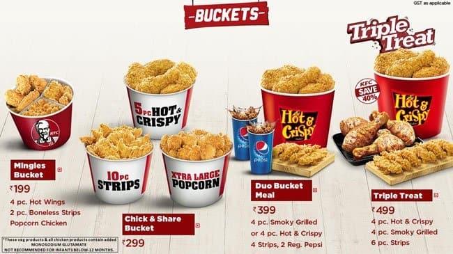 Kfc Menu Menu For Kfc Ks Rao Nagar Mangalore Zomato