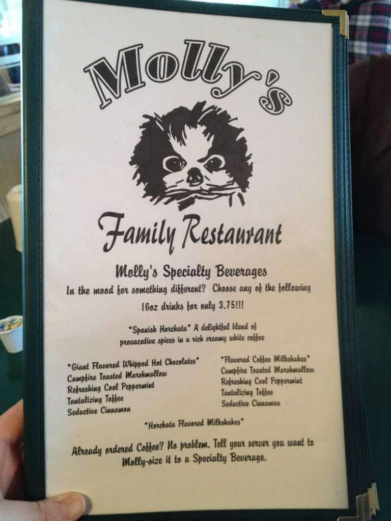 Molly S Family Restaurant Menu Urbanspoon Zomato