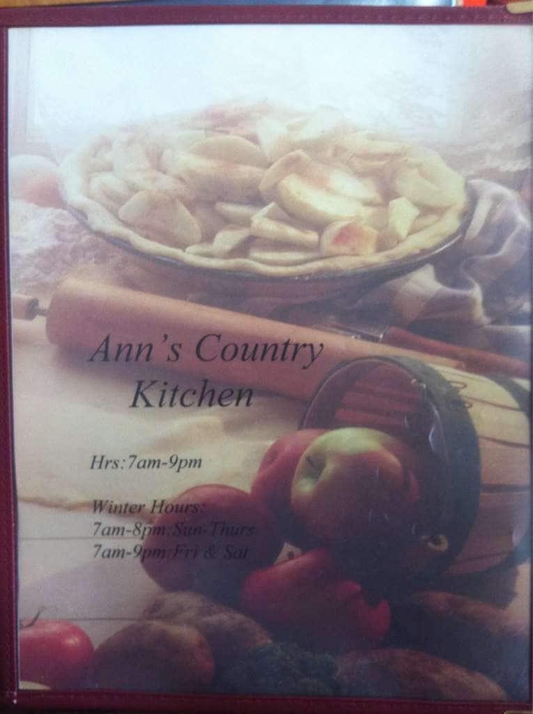 Ann S Country Kitchen Menu Menu For Ann S Country Kitchen Lawton Lawton