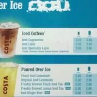 Costa Coffee West End Glasgow Zomato Uk
