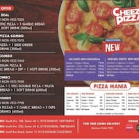 Cheezy Pizza, Sector 38, Chandigarh - Zomato