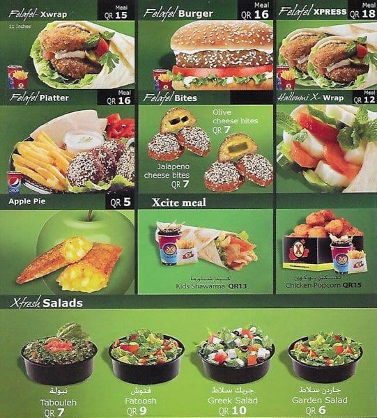 Shawarma Xpress Menu, Menu for Shawarma Xpress, Al Gharafa, Doha ...