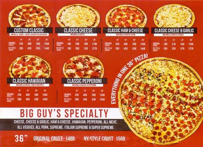 At Pizza Guys, you'll find the best deals on pizza, pasta, wings, salads, and more. Pizza Guys' pizzas are available on regular or gluten-free crust. You can order online, and be sure to check out the Hot Deals at your local Pizza Guys location for big savings.