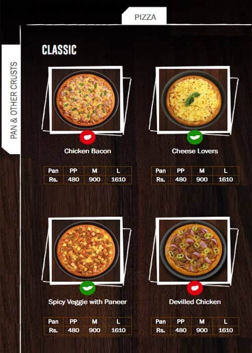 Pizza Hut Menu Menu For Pizza Hut Moratuwa Colombo Colombo