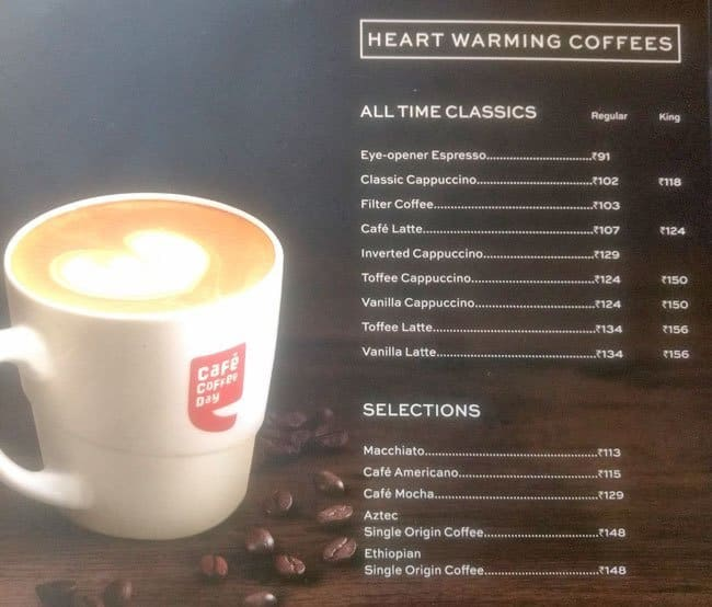 statistics of cafe coffee day Discover what's new at cafe coffee day my profile logout search login to create your profile about us café coffee day, a part of coffee day global limited.