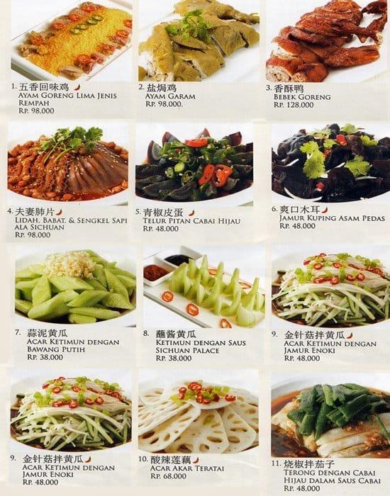Sichuan palace menu menu for sichuan palace tanjung for 328 chinese cuisine menu