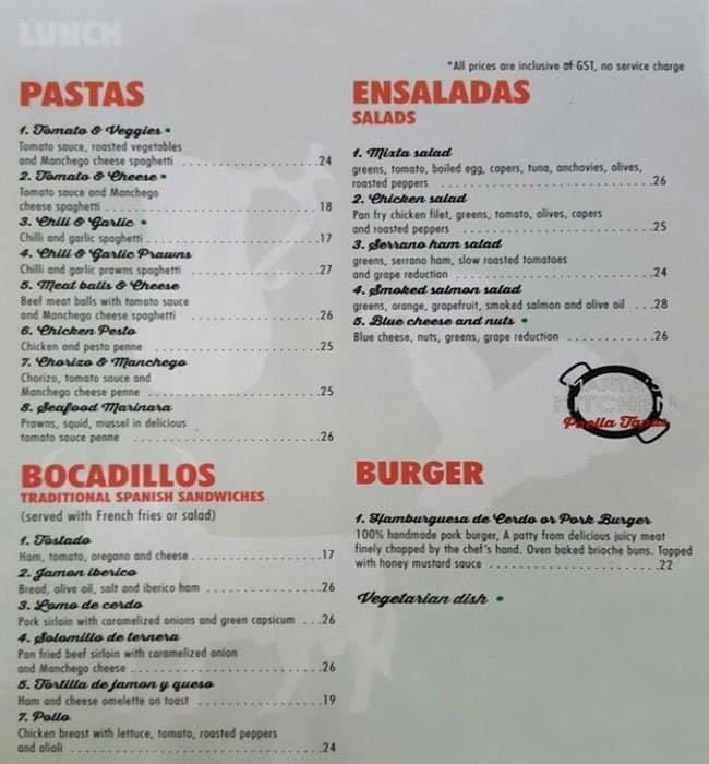 martas kitchen menu - Marthas Kitchen