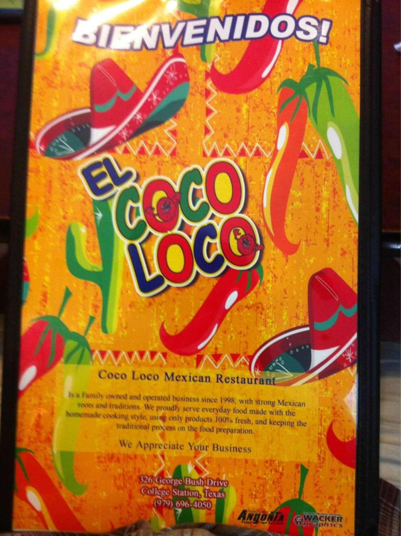 Coco loco near me