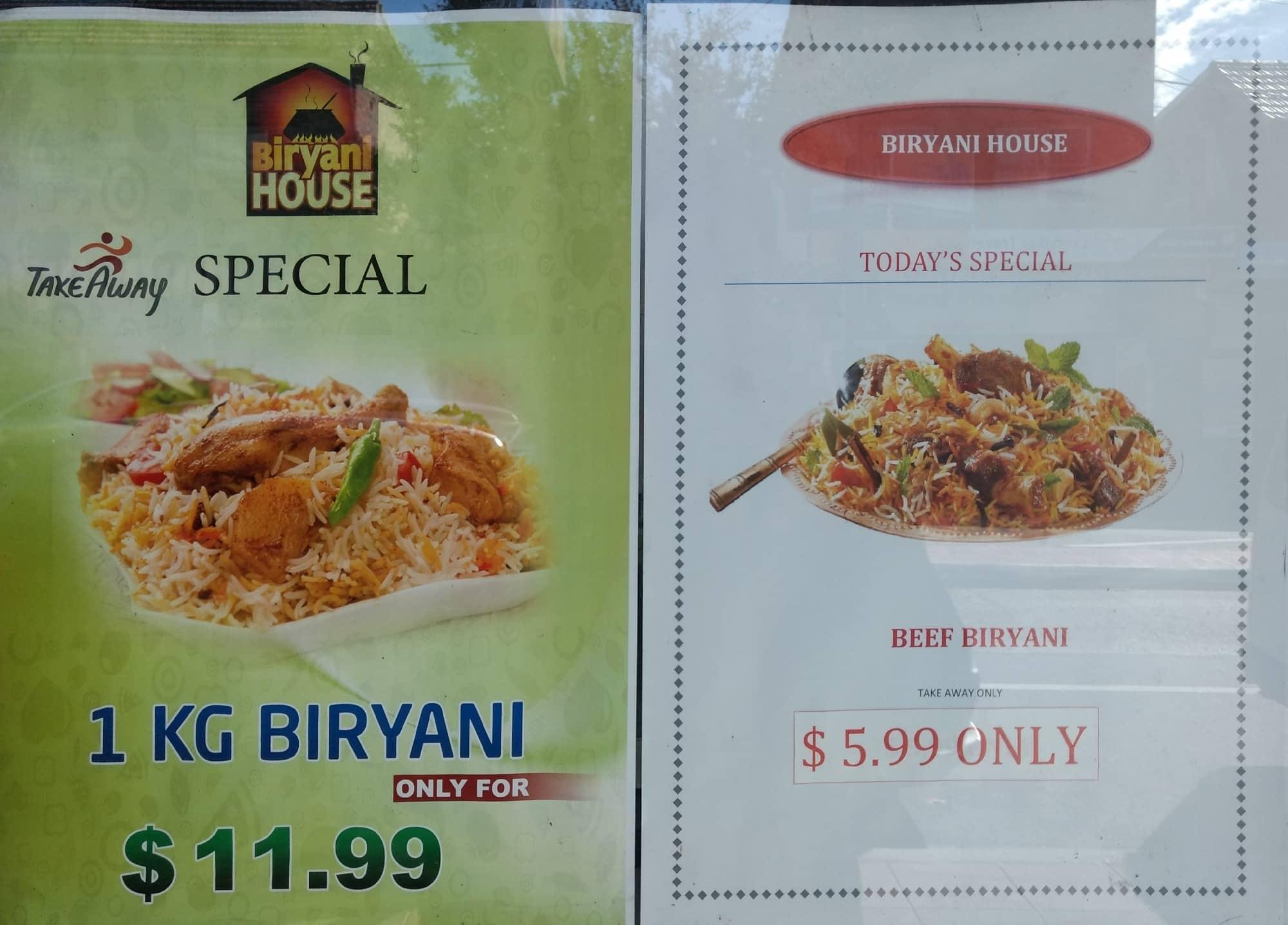 Biryani House Menu, Menu for Biryani House, Lakemba, Sydney ...