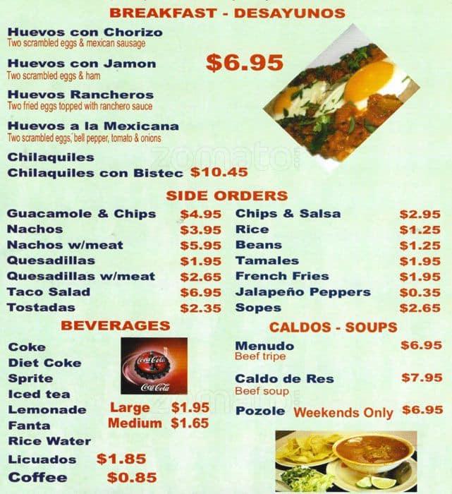 Image gallery menu mexicano - Menus para comidas familiares ...