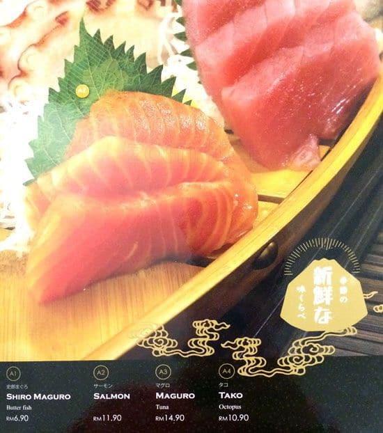 Tokyo Kitchen Menu Menu For Tokyo Kitchen Imbi Kuala