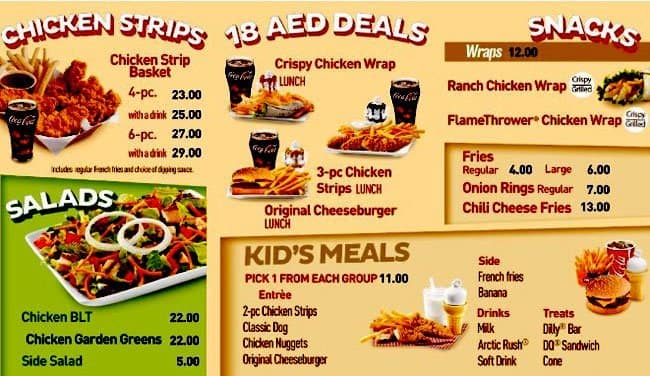 dairy queen menu prices pictures  Dairy Queen Menu, Menu for Dairy Queen, Al Nakheel, Ras al-Khaimah ...