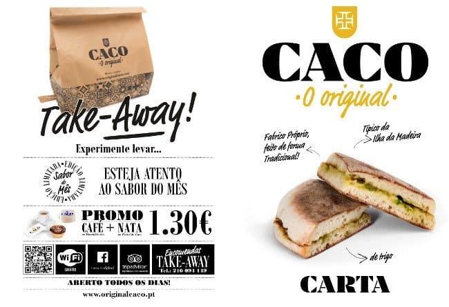 Caco, o Original, Benfica menu