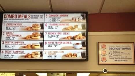 Burger King Menu, Menu for Burger King, Manahawkin, Manahawkin ...