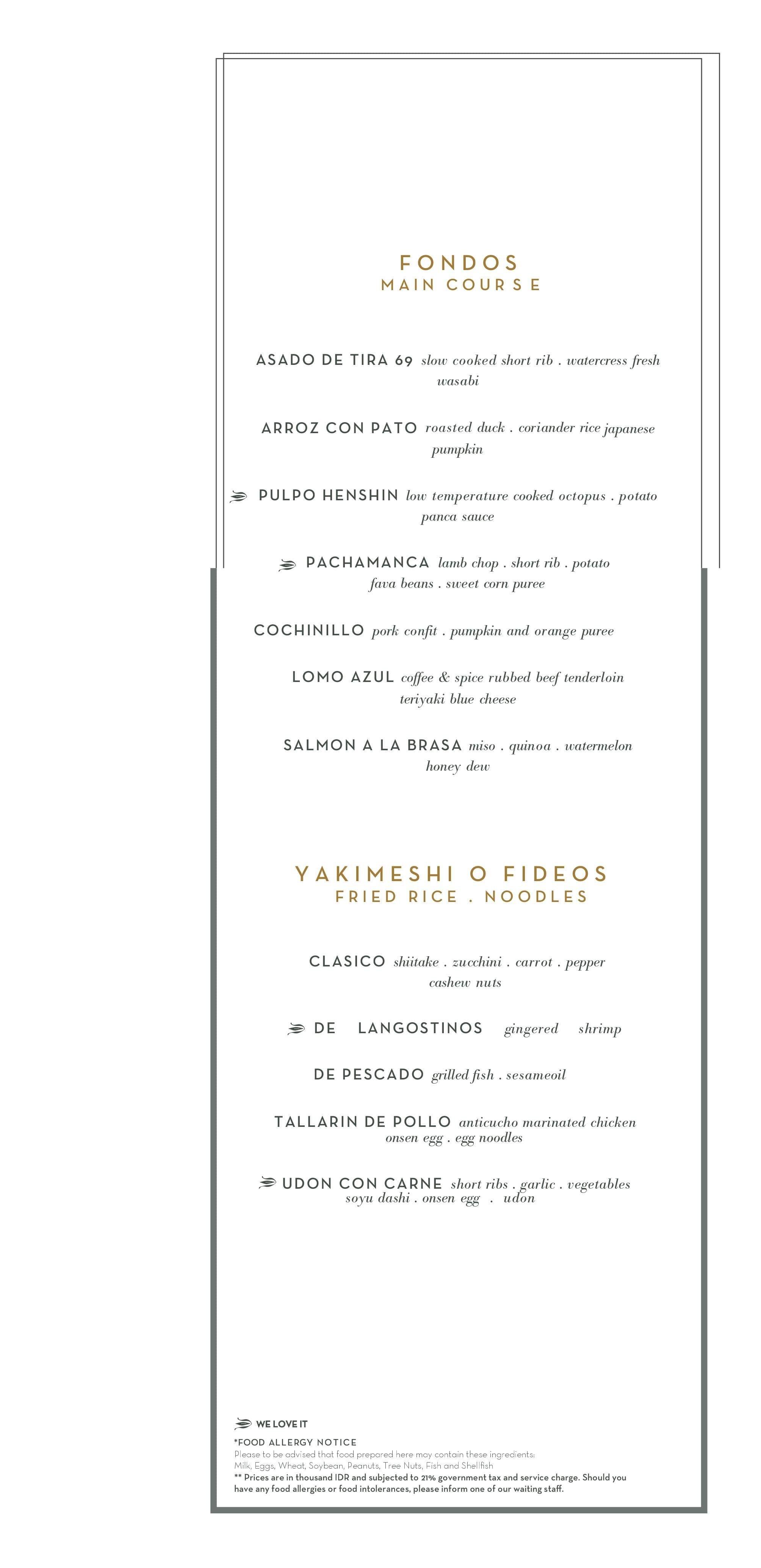 henshin the westin jakarta menu zomato indonesia