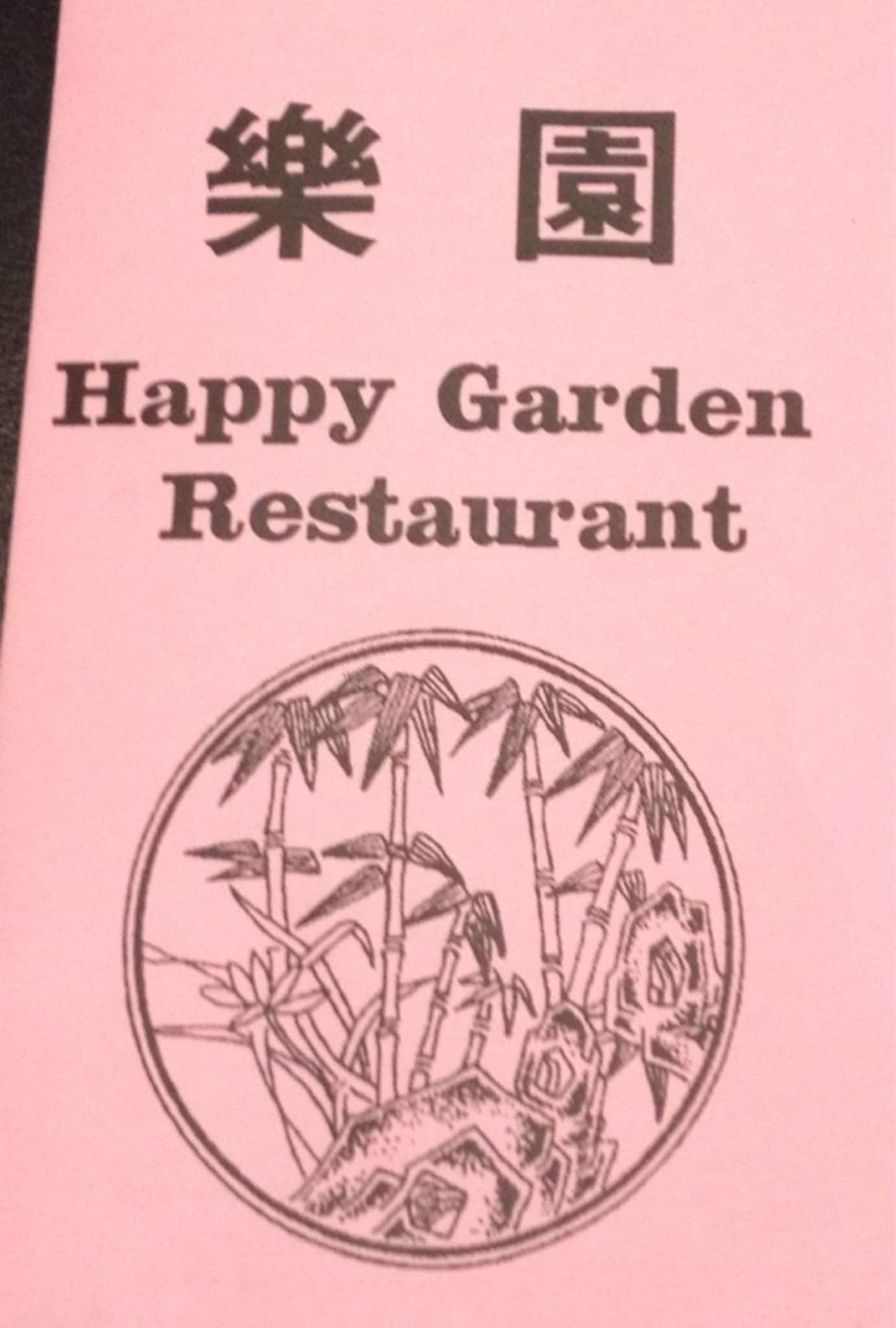 the restaurant information including the happy garden menu items and prices may have been modified since the last website update - Happy Garden Chico