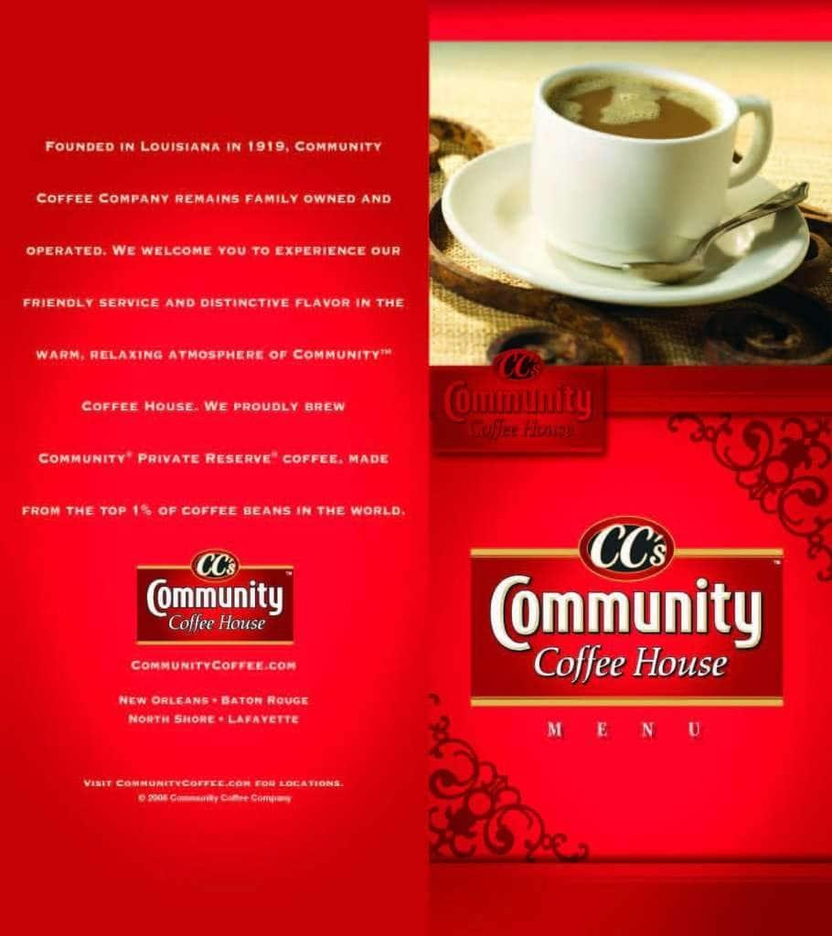 Ccs Coffee Food Menu